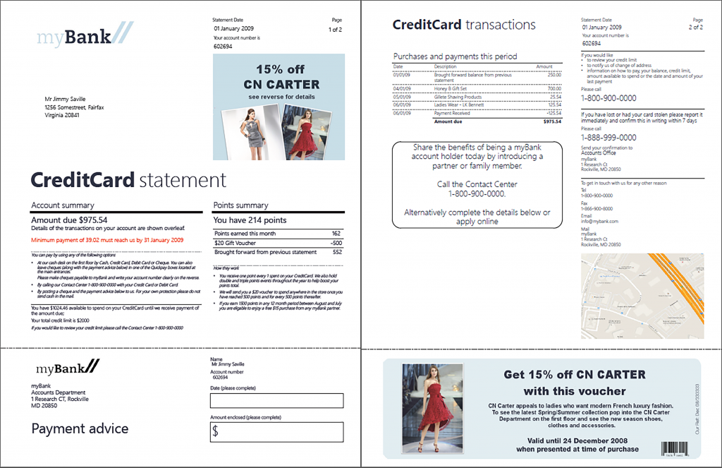 customer communication sample