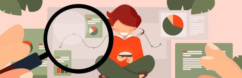 Customer Behavior Analysis Illustration