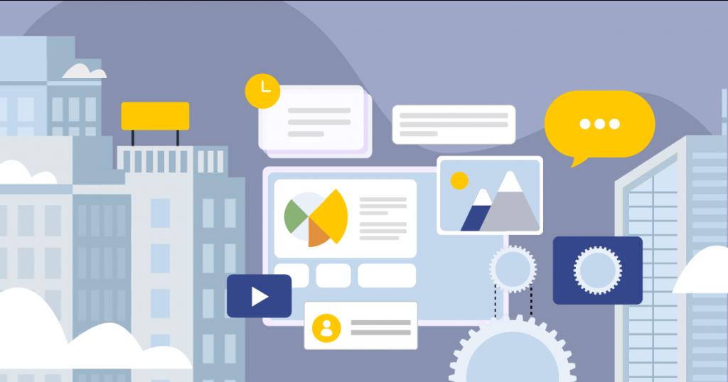 Enterprise Content Management social media