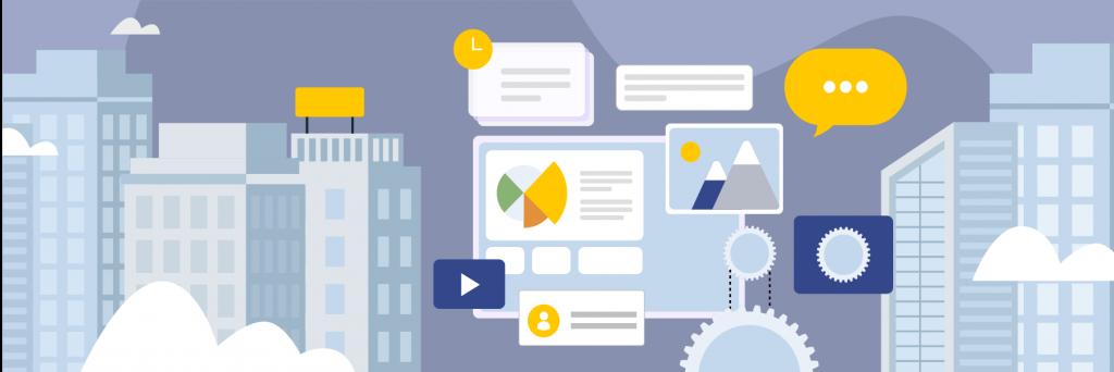 Enterprise Content Management illustration