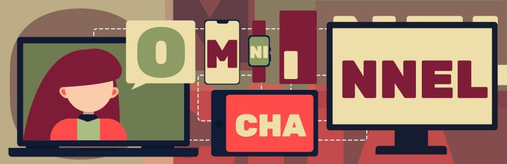 Omnichannel Marketing Illustration