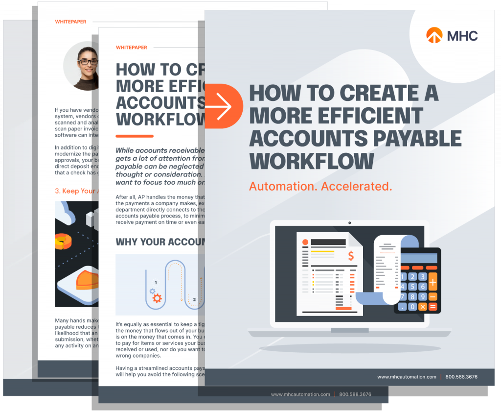 How to Create a More Efficient Accounts Payable Workflow Whitepaper Cover