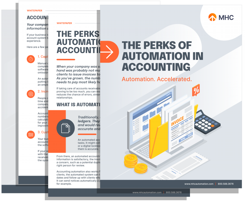The Perks of Automation in Accounting - Whitepaper Cover