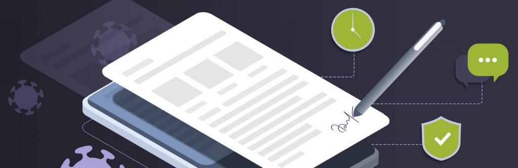 Why Sign Documents Online Illustration