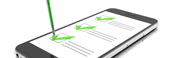 mobile phone checklist