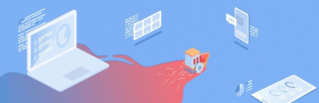 Digital Experience Platform Illustration