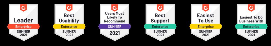 g2 summer 2021 badges