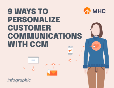 9 Ways to Personalize Customer Communications with CCM cover