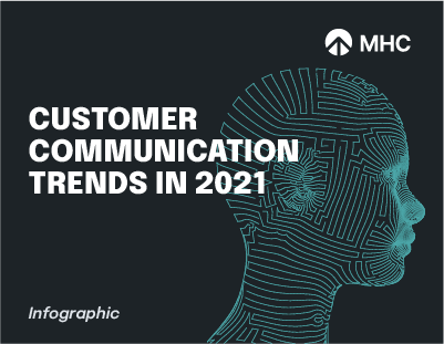 Customer Communication Trends in 2021 cover