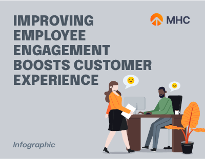 Improving Employee Engagement Boosts Customer Experience cover