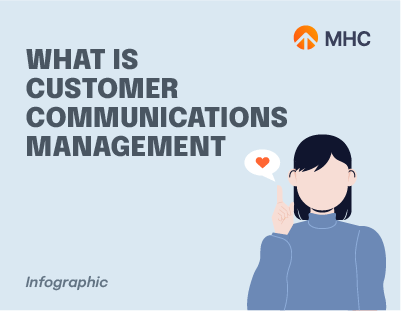 What is Customer Communications Management cover