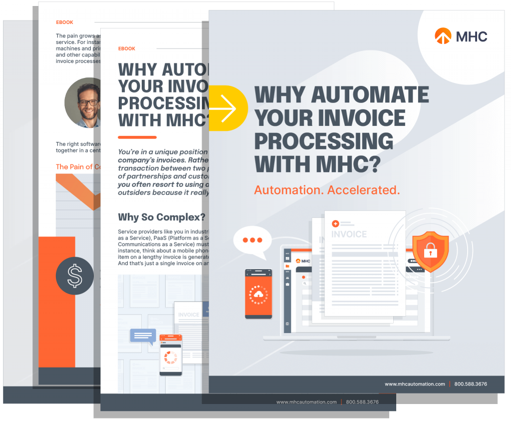 Why Automate Your Invoice Processing with MHC - Whitepaper Cover
