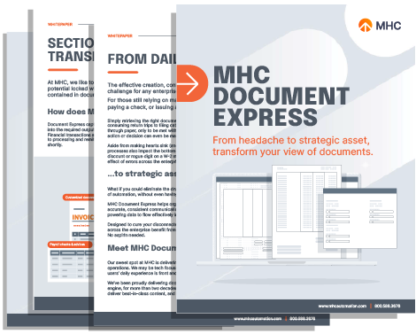 Document express Collateral Cover
