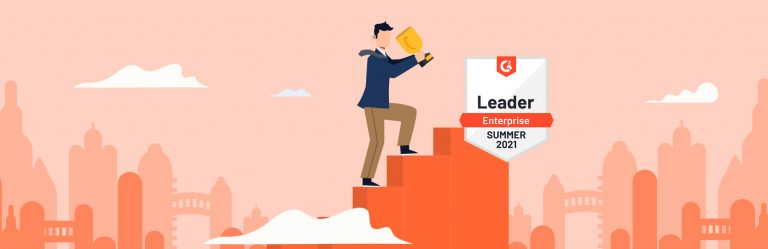 G2 Leaderboard web banner