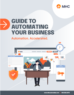 Guide to automating your business Whitepaper Cover