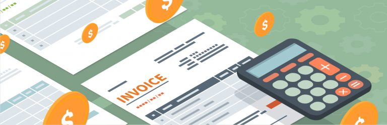 Invoice Processing Web Banner